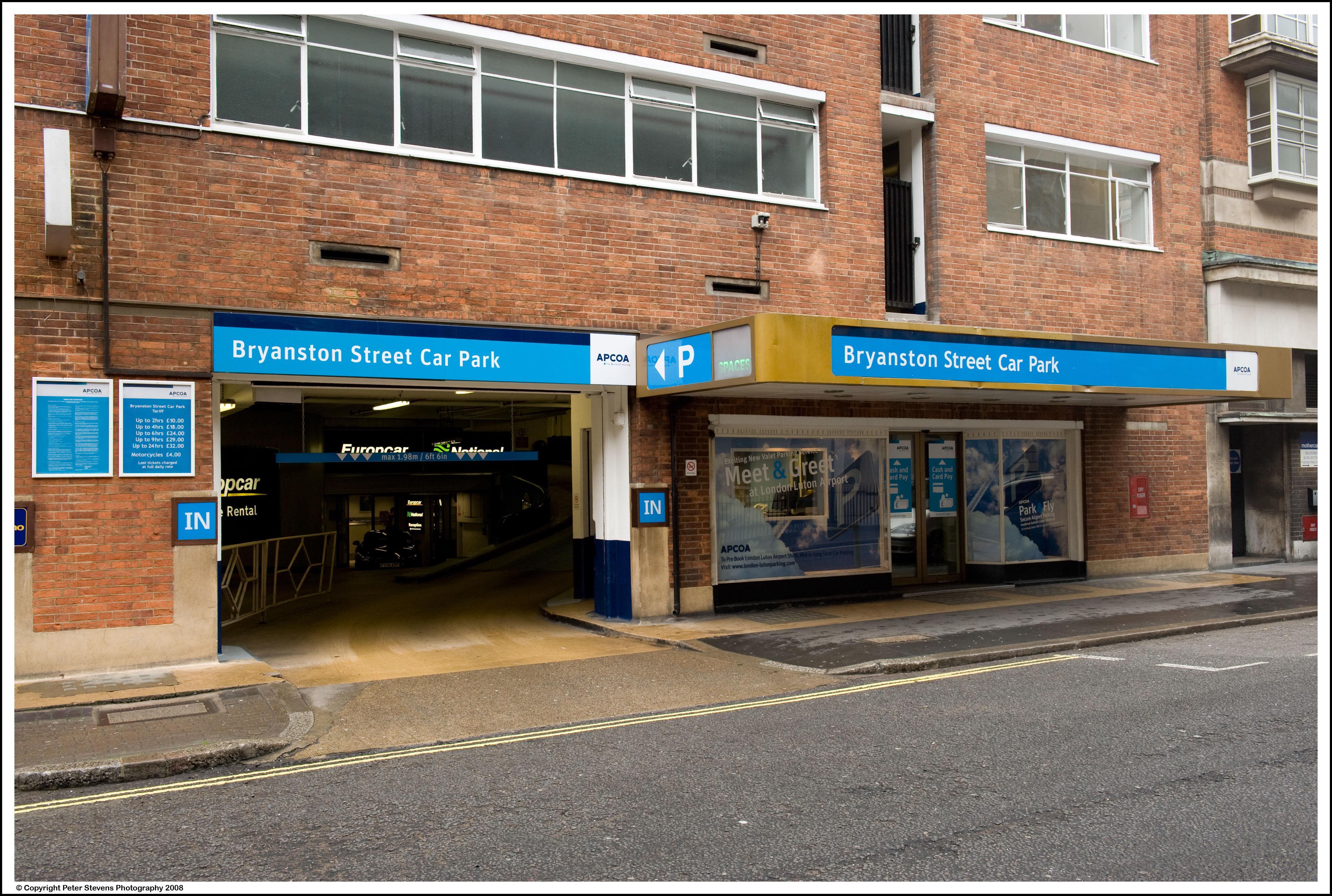 Parking In Oxford Street West Car Park London Pre Book